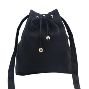 Canvas Drawstring Handbag