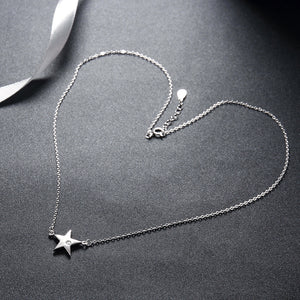 Five-Point Star Necklace