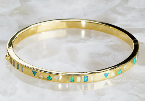 Native Gem Talisman Bangle