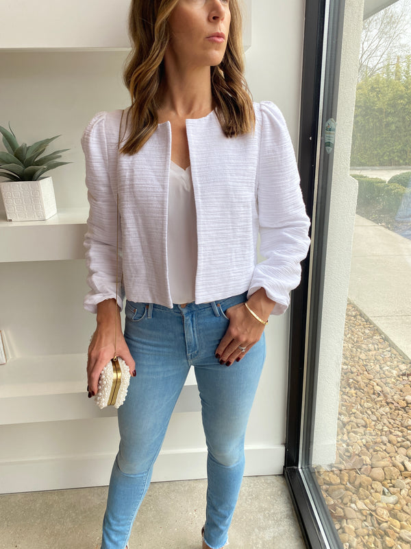 MO81257100 White Perri Jacket