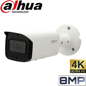 Dahua Security Camera: 8MP (4K) Starlight Bullet, VF 3.7~11mm, 60m IR