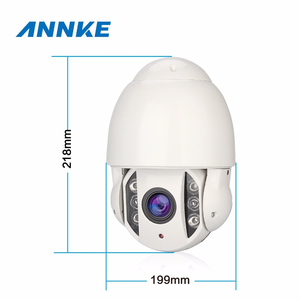 Annke PTZ Camera: 1080P FULL HD with IR Night Vision