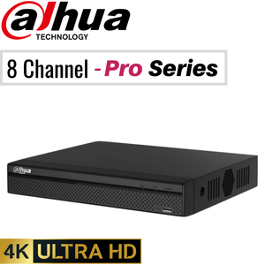 Dahua 8 Channel Network Video Recorder: 12MP (4K) Pro Series