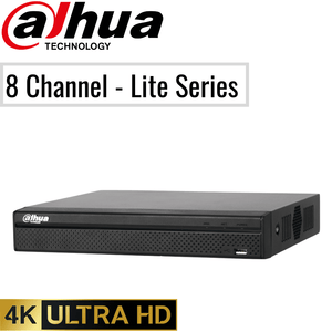 Dahua 8 Channel Network Video Recorder: 8MP (4K) Lite Series