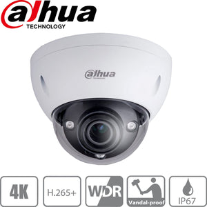 Dahua Security Camera: 8MP(4K) Varifocal Dome 2.7-12mm