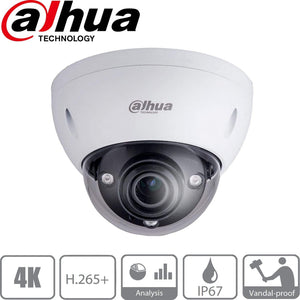 Dahua Security Camera: 12MP(4K) Varifocal Dome 4.1-16.4mm