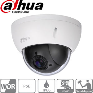 Dahua Security Camera: 2MP PTZ, 4X Zoom, IK10