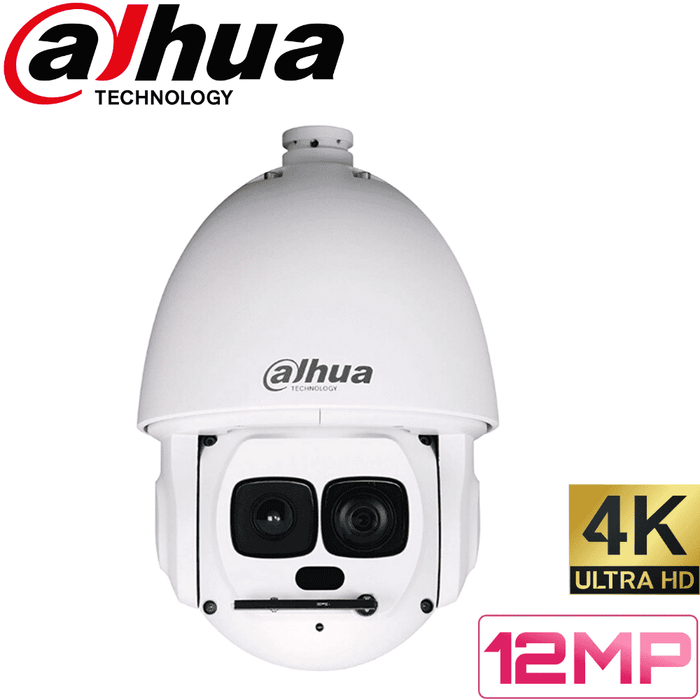 Dahua Security Camera: 12MP (4K) PTZ Dome, 30X Zoom