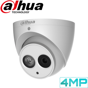 Dahua Security Camera: 4MP Fixed Lens Eyeball, Built-In Mic