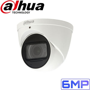 Dahua Security Camera: 6MP VF Eyeball, 2.7~13.5mm, 50m IR