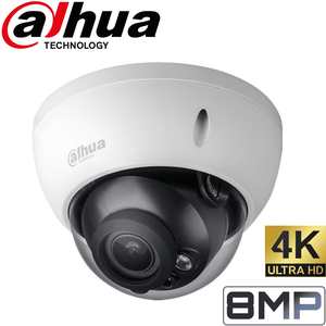 Dahua Security Camera: 8MP VF Dome, 2.7-12mm