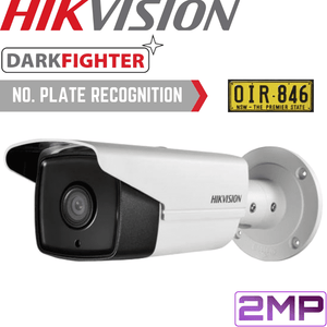 Hikvision Security Camera: 2MP ANPR Motorised VF Bullet 2.8-12mm
