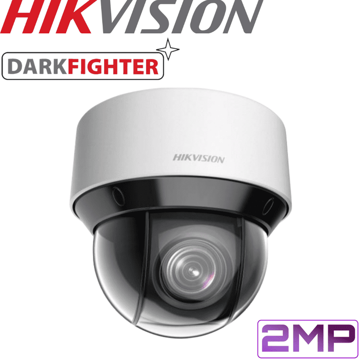 Hikvision Security Camera: 2MP PTZ, 4X Zoom, 50m IR