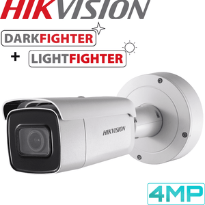 Hikvision DS-2CD5A46G0-IZS Darkfighter Security Camera: 4MP Motorised VF Bullet 2.8-12mm