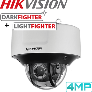 Hikvision Darkfighter Security Camera: 4MP Motorised VF Dome 2.8-12mm