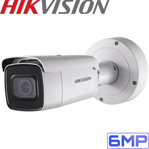 Hikvision Security Camera: 6MP Motorised Varifocal Bullet 2.8-12mm
