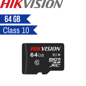 Hikvision Micro SD Card: 64GB, Class 10