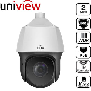 Uniview Security Camera: 2MP PTZ Dome 22x