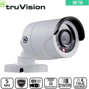 TruVision Analogue Security Camera: 5MP HD-TVI Bullet