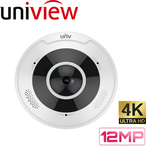 Uniview Security Camera: 12MP 360° Fisheye Dome