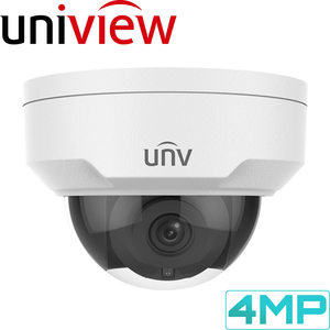 Uniview 8 Channel Security System: 4K NVR, 6 x 4MP Domes, 2TB HDD
