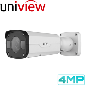 Uniview Security Camera: 4MP Fixed Lens Bullet, 4mm