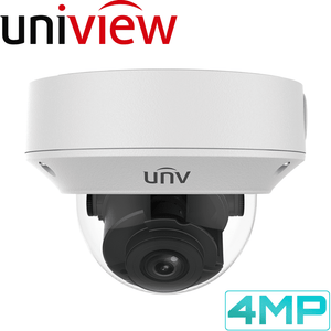 Uniview Security Camera: 4MP Motorised Varifocal Dome 2.8-12mm
