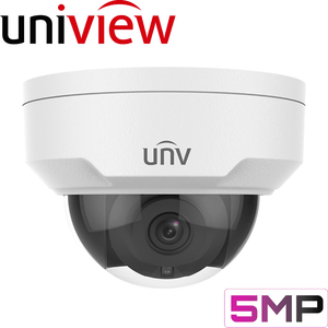 Uniview Security Camera: 5MP Starlight Dome with IK10