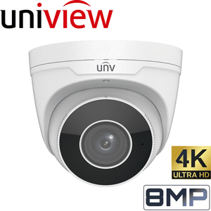 Uniview Security Camera: 8MP (4K) Motorised Varifocal Eyeball 2.8~12mm