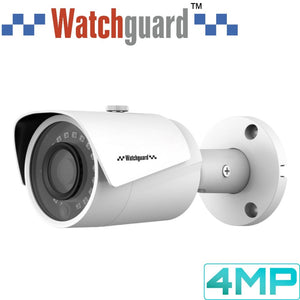 Watchguard Security Camera: 4MP Mini Bullet, 2.8mm Fixed Lens