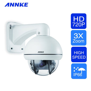 Annke PTZ Camera: 720P HD with IR Night Vision