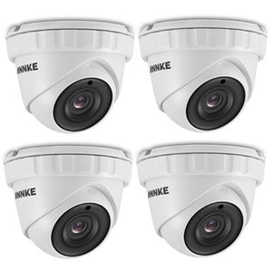 Annke Security Camera: 3MP HD Dome with EXIR Night Vision x 4
