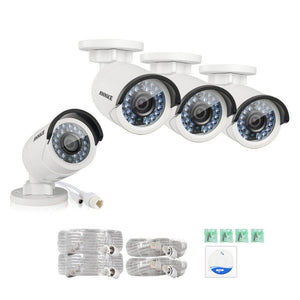 Annke Security Camera: 2MP IP Bullet x 4