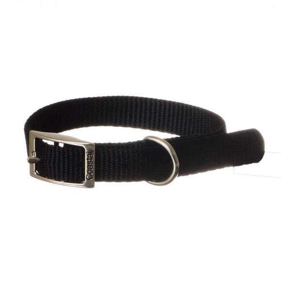 Coastal Pet Single Nylon Collar - Black