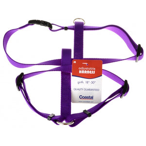 Coastal Pet Nylon Adjustable Harness - Purple