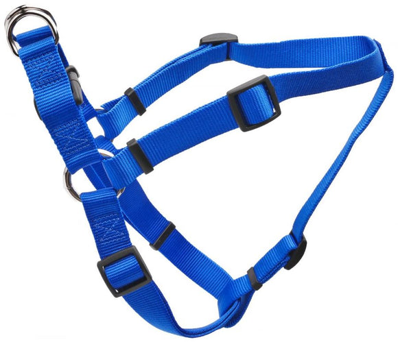 Tuff Collar Comfort Wrap Nylon Adjustable Harness - Blue