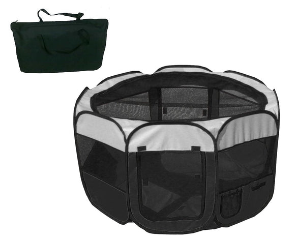 All-Terrain' Lightweight Easy Folding Wire-Framed Collapsible Travel Pet Playpen