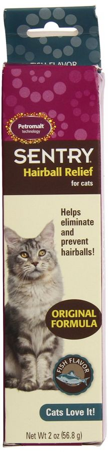 Sentry Petromalt Hairball Relief - Liquid Fish Flavor