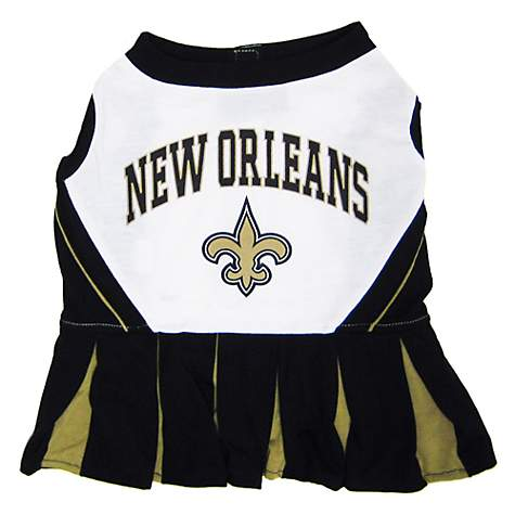 New Orleans Saints Cheerleader Pet Dress