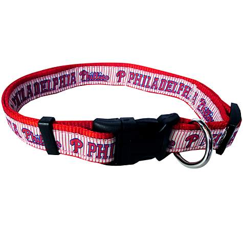 Philadlephia Phillies Collar- Ribbon - Yip & Purr® Official Website