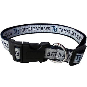 Tampa Bay Rays Collar- Ribbon - Yip & Purr® Official Website
