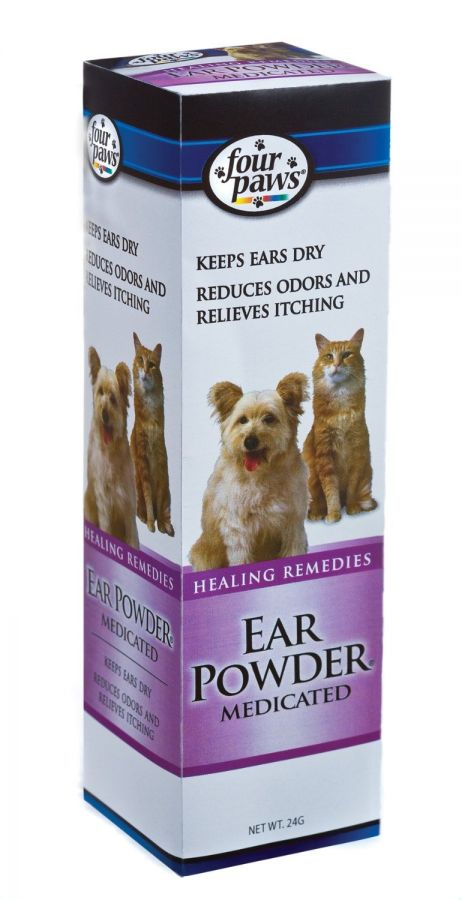 Four Paws Ear Powder Medicated for Dogs