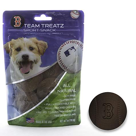 Boston Red Sox Dog Treats - Yip & Purr® Official Website