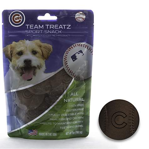 Chicago Cubs Dog Treats - Yip & Purr® Official Website
