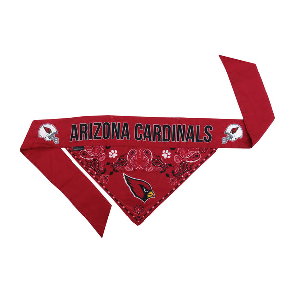 Arizona Cardinals Pet Bandana- Tie On - Yip & Purr® Official Website