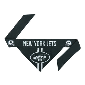 New York Jets Pet Bandana- Tie On - Yip & Purr® Official Website