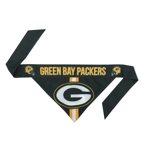 Green Bay Packers Pet Bandana- Tie On - Yip & Purr® Official Website