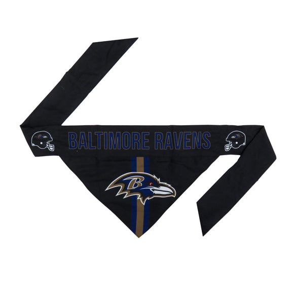 Baltimore Ravens Pet Bandana- Tie On - Yip & Purr® Official Website