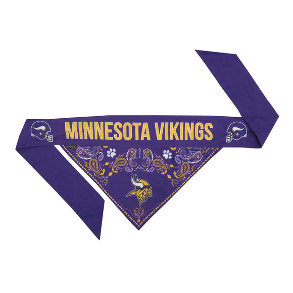 Minnesota Vikings Pet Bandana- Tie On - Yip & Purr® Official Website