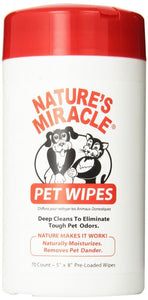 Nature's Miracle Pet Wipes